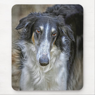 Borzoi Rescue Dog Mouse Pad