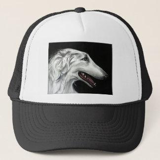 borzoi trucker hat