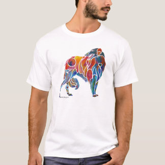 Borzoi Whimsical T-Shirt