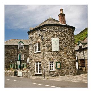 Boscastle Cornwall Invite