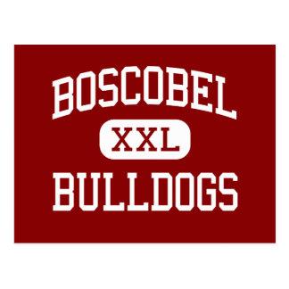 Boscobel - Bulldogs - High - Boscobel Wisconsin Postcard
