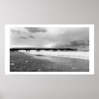 Boscombe Pier Print