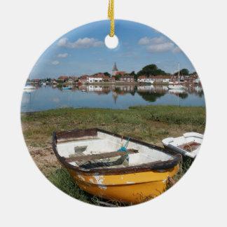 Bosham - Glorious seaside - Pro photo. Round Ceramic Decoration