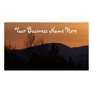 BOSI Boreal Silhouette Business Cards