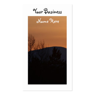 BOSI Boreal Silhouette Business Card Template