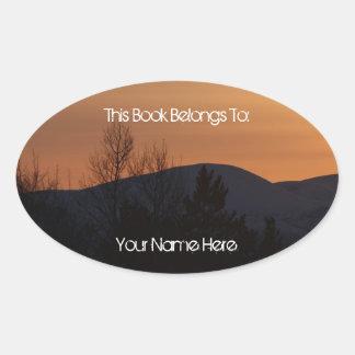 BOSI Boreal Silhouette Oval Sticker
