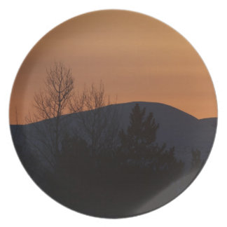 BOSI Boreal Silhouette Party Plate