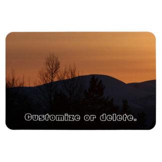 BOSI Boreal Silhouette Rectangular Photo Magnet