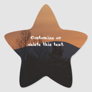 BOSI Boreal Silhouette Star Sticker