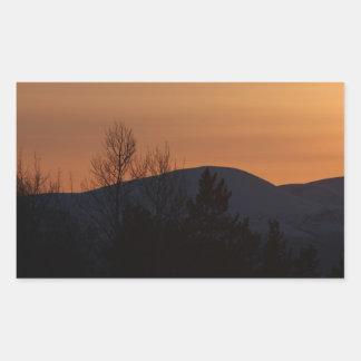 BOSI Boreal Silhouette Rectangular Sticker