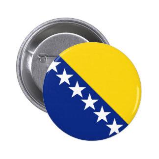 bosnia and herzegovina 6 cm round badge
