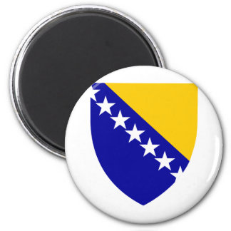Bosnia And Herzegovina Coat Of Arms 6 Cm Round Magnet