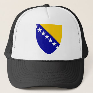 Bosnia and Herzegovina Coat of arms BA Trucker Hat