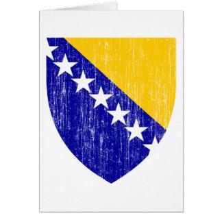 Bosnia And Herzegovina Coat Of Arms Greeting Card