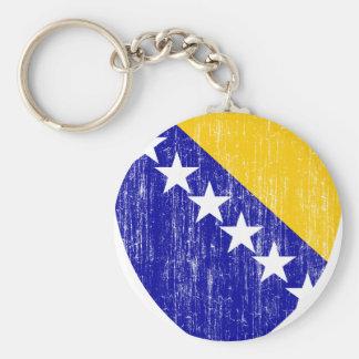 Bosnia And Herzegovina Coat Of Arms Keychain