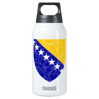 Bosnia And Herzegovina Coat Of Arms 10 Oz Insulated SIGG Thermos Water Bottle