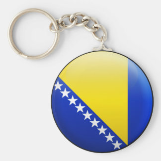 Bosnia and Herzegovina Flag Key Ring