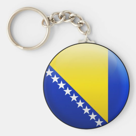 Bosnia and Herzegovina Flag Key Ring