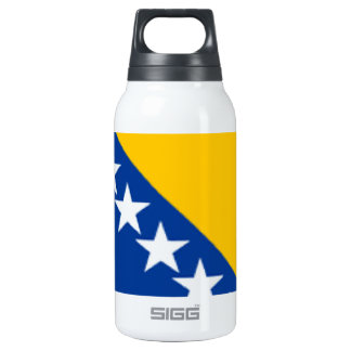 Bosnia and Herzegovina Flag 10 Oz Insulated SIGG Thermos Water Bottle