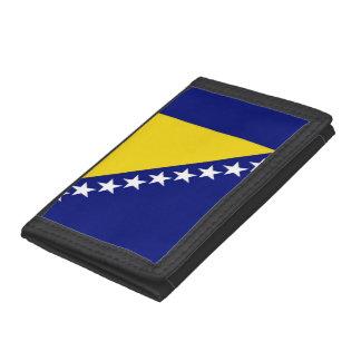 Bosnia and Herzegovina Flag Trifold Wallets