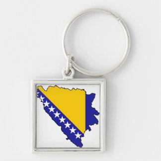Bosnia and Herzegovina map BA Key Ring