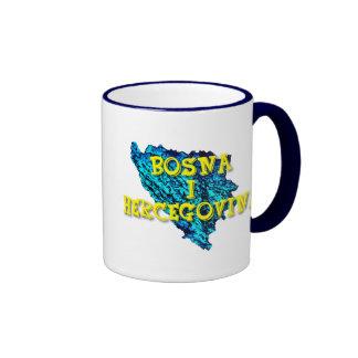 Bosnia and Herzegovina Ringer Mug