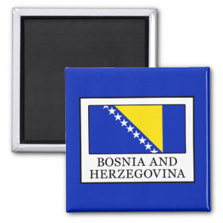 Bosnia and Herzegovina Square Magnet