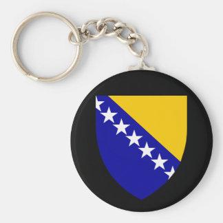 bosnia emblem key ring
