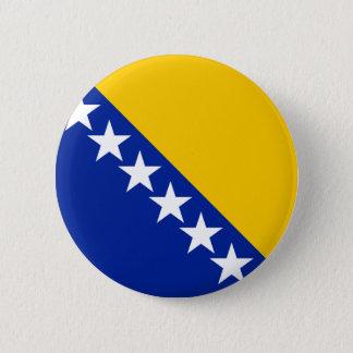 Bosnia Flag 6 Cm Round Badge