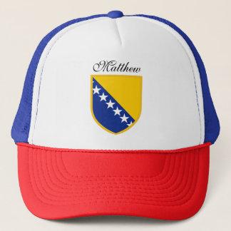 Bosnia Flag Trucker Hat