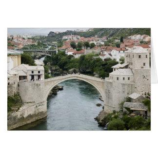 Bosnia-Hercegovina - Mostar. The Old Bridge Card