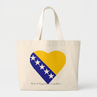 BOSNIA - HERZEGOVINA CANVAS BAGS
