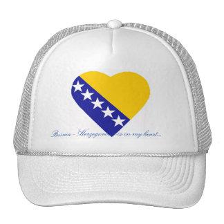 BOSNIA - HERZEGOVINA TRUCKER HAT