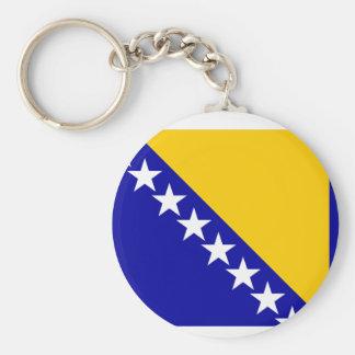 Bosnia Herzegovina Flag Key Ring