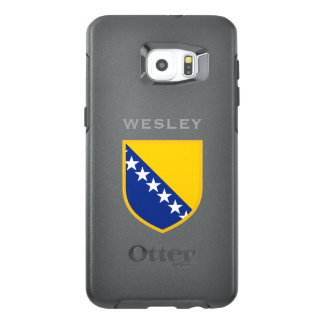 Bosnia Herzegovina Flag OtterBox Samsung Galaxy S6 Edge Plus Case