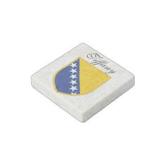 Bosnia Herzegovina Flag Personal Stone Magnet