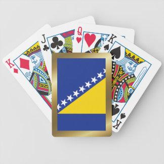 Bosnia Herzegovina Flag Playing Cards