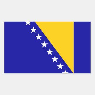 Bosnia Herzegovina flag Rectangular Sticker