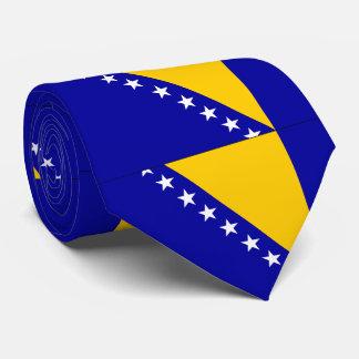 Bosnia Herzegovina flag Tie