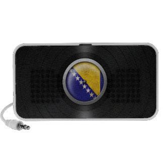 Bosnia - Herzegovina Flag Vinyl Record Album Graph Speaker System