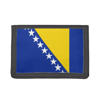 Bosnia Herzegovina Flag Wallet