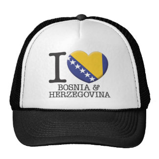 Bosnia & Herzegovina Mesh Hats