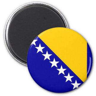 Bosnia Herzegovina High quality Flag 6 Cm Round Magnet