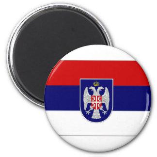 Bosnia Herzegovina Republika Srpska Flag 6 Cm Round Magnet