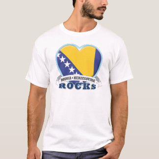Bosnia & Herzegovina Rocks T-Shirt
