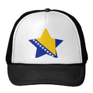 Bosnia+Herzegovina Star Hats