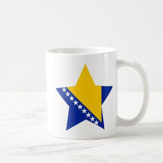 Bosnia+Herzegovina Star Coffee Mug