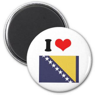 Bosnia Herzgovina 6 Cm Round Magnet