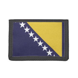 Bosnia-Herzgovina Flag Trifold Wallets