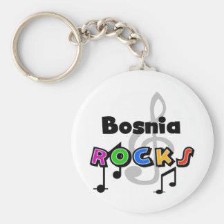 Bosnia Rocks Key Ring